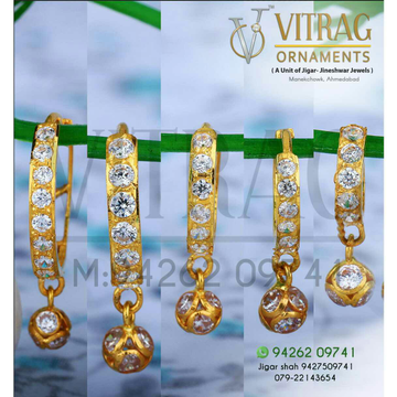 18kt Hanging Fancy Saniya Bali ATG -0017