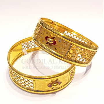 20kt gold bangle gbg50