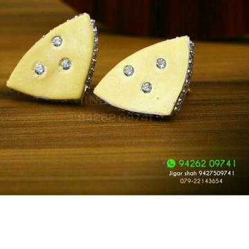 18kt Precious Plain Gold Ladies Tops ATG -0076