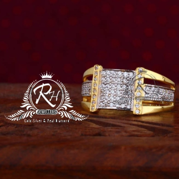 22 carat gold dimond gents rings RH-GR830