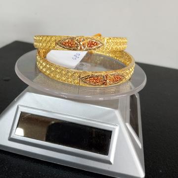 kalkati new design Bangle by Aaj Gold Palace