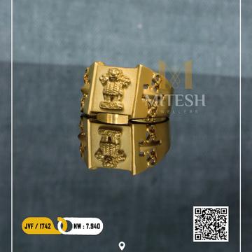 22k/916 GOLD MEN RING