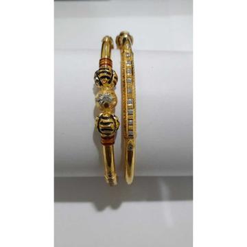 916 gold copper kadli by