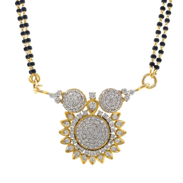 Sun Design Traditional Vatimani Diamond Pendant 1....