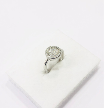 925 sterling silver round cut ring for women and girls