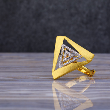22kt Gold Exclusive Cz Ring LLR109