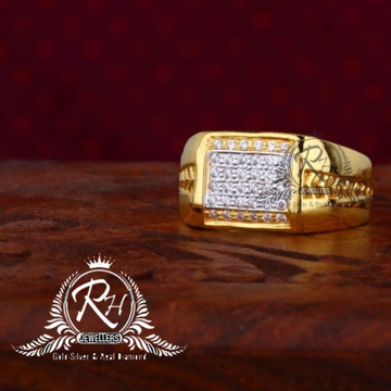 22 carat gold classic gents rings RH-GR826