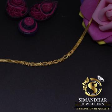 916 hallmarked simple and classic ladies bracelet by Simandhar Jewellers