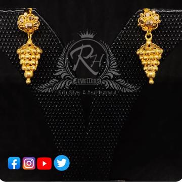 22 carat gold traditional ladies jhumka RH-ER406
