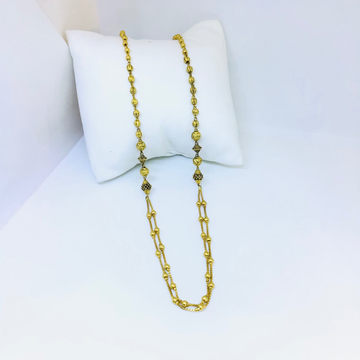 Designing fancy gold antique mala by