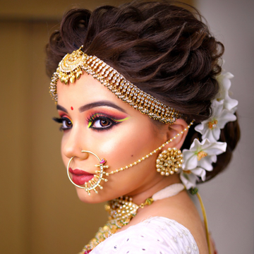 Kundan bridal jewellery set