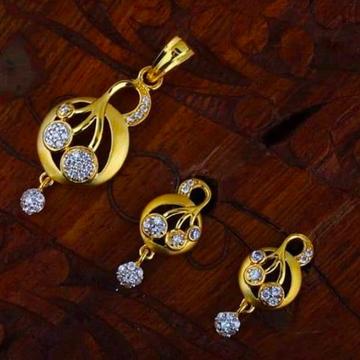 916gold chain pendantset_RHpset59