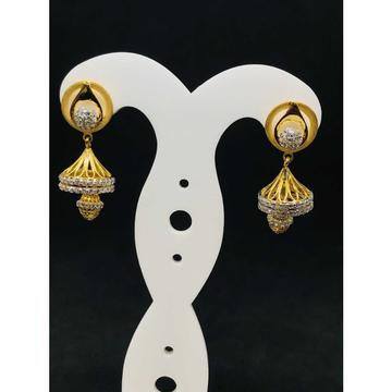 916 Ladies Fancy Gold Earring Er-60014