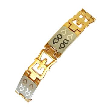 One gram gold forming plain laser bracelet mga - bre0097
