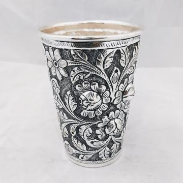 925 pure silver glass in fine antique High Rise ca... by Puran Ornaments