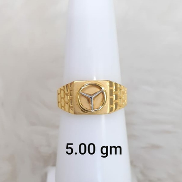 916 plain light weight gent's ring by