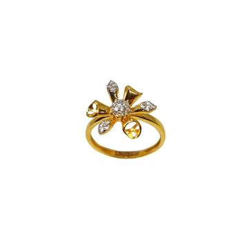 22K Gold Designer Ladies Ring MGA - LRG1170