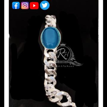 silver salman gents bracelet lucky RH-LY203