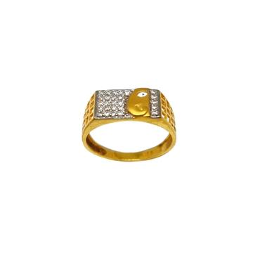 22K Gold Ganesh Gents Ring MGA - GRG0246