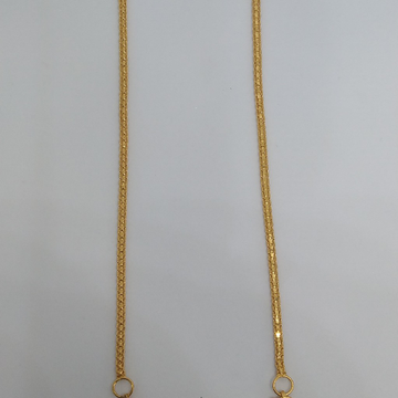 22 kt 916 Gold Designer Earchain by Zaverat