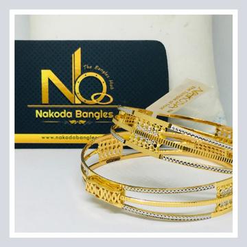 916 Gold CNC Bangles NB - 716