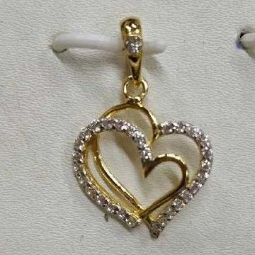 Exclusive 916 Gold Pendant For Ladies
