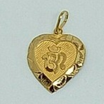 Gold Hallmark Om pendant  by