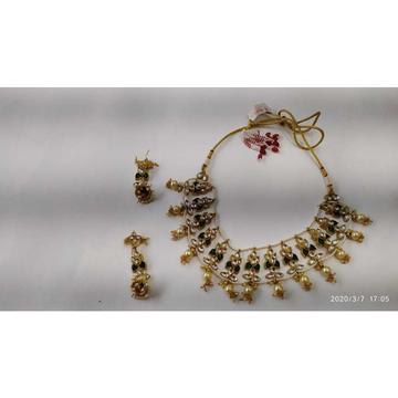 Beautiful Kundan Necklace Set#922
