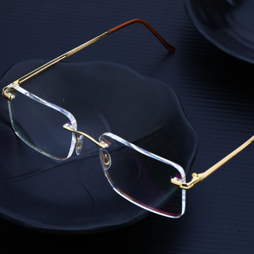 Mens 18K Gold Spectacle-S12