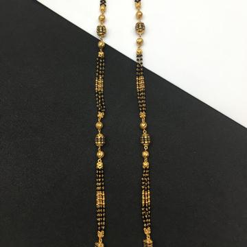 exclusive 916 gold antique mangalsutra ser