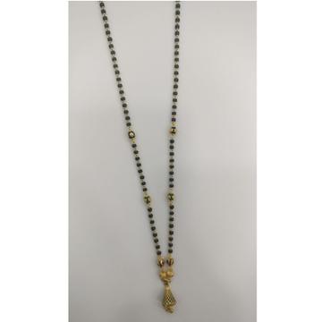 22 carat gold antique ladies mangalsutra RH-LM845