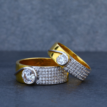Fancy Gold 916 Couple Ring-CR24
