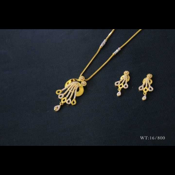 22 K Gold Pendant Set. NJ-P01149