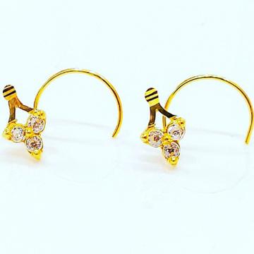 Gold Diamond Nosepin by