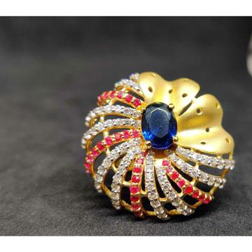 22Kt Ladies Designer Gold Fancy Ring Lr-17077