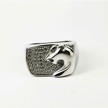 Expensive 925 Silver Jaguar Gents Ring
