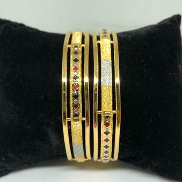916 Gold Copper Kadli Bangle VN-B05