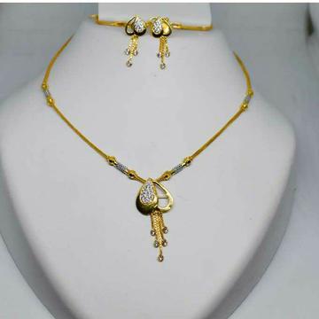 916 fancy chain set With earings