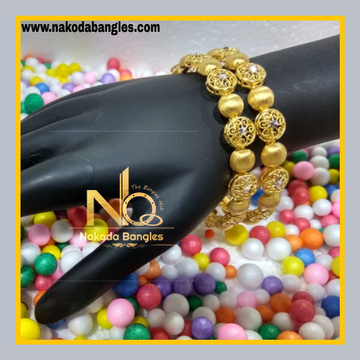 916 Gold Patra Bangles NB - 617