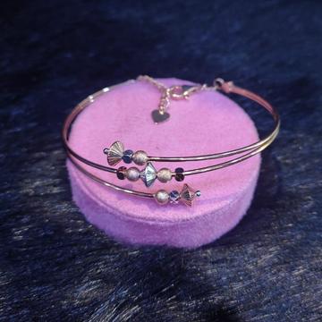 18 Kt Rose Gold Alique Brecelet For Women