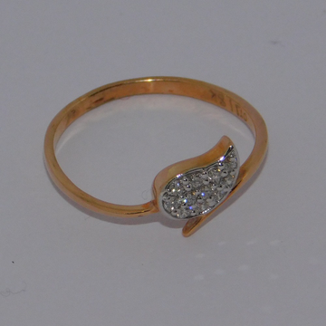 18K gold diamond ring agj-lr-249