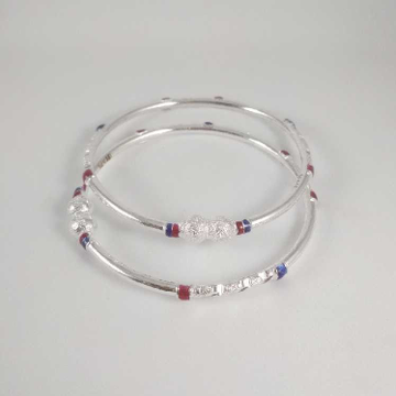 Silver Casting Fancy Bangles. NJ-B01024