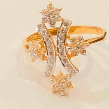 18kt exclusive ladies ring by Prakash Jewellers
