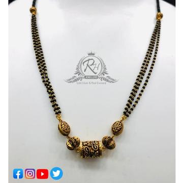 22 carat gold latest ladies mangalsutra RH-MN196