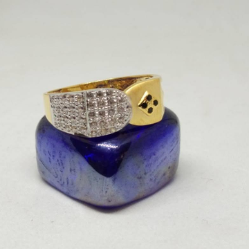 22K gents diamond ring by