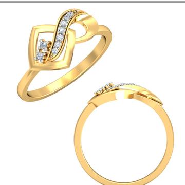 22Kt Yellow Gold Daring Femme Ring For Women