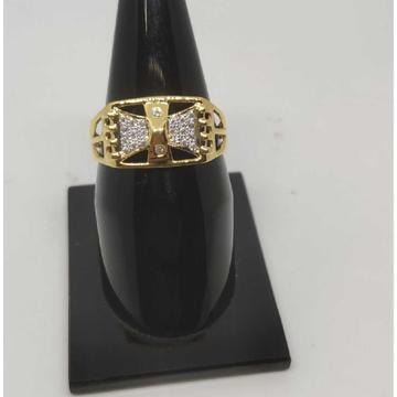22k Gents Fancy Gold Ring Gr-28605