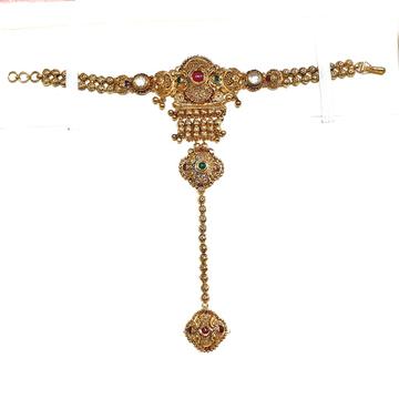22k gold antique pocho mga - gp002