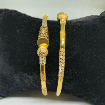 22Kt Gold Designer Copper Kadli Bangle VN-B09