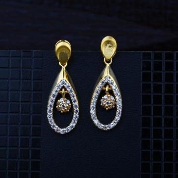 916 Gold CZ Earring RH-ER086